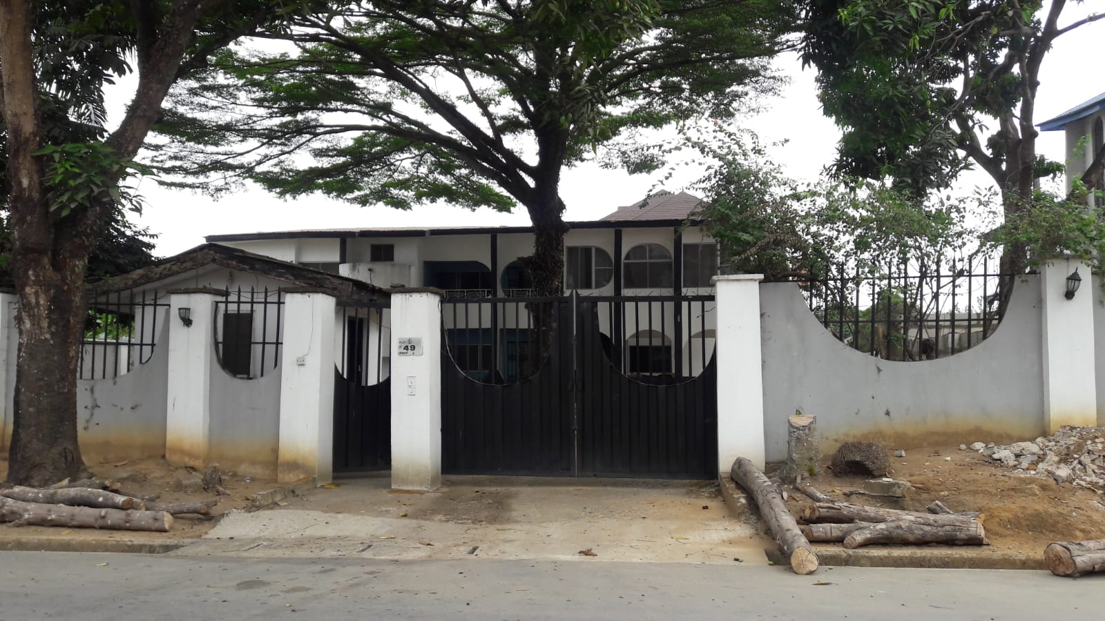 Luxury 6-Bedroom Full Detached Duplex with Bq and Massive Compound
