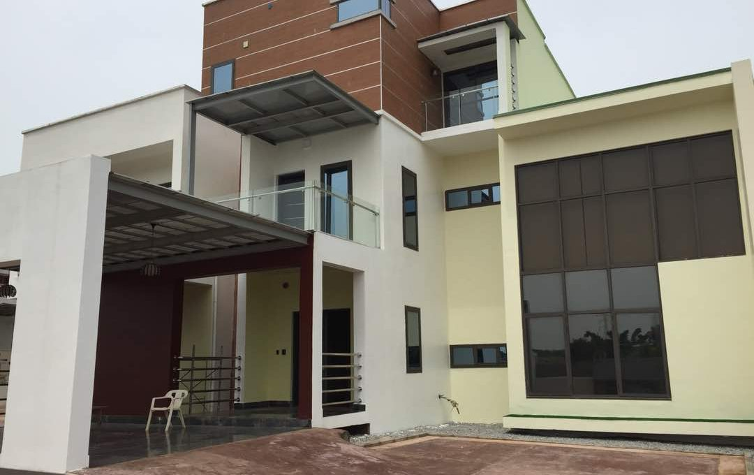 Automated 5-Bedroom semi-detached duplex for sale @ 400m in Asokoro (1)