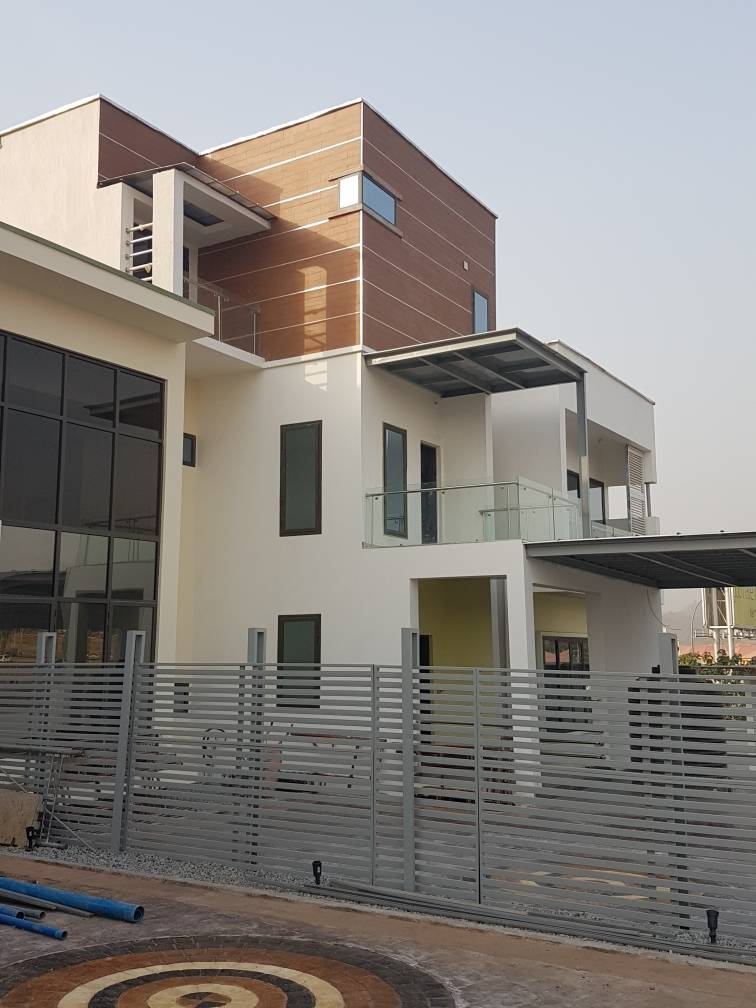 Twin Luxury Automated 4-Bedroom Semi-Detached Duplex with Bq